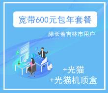 宽带600元包年套餐(100Mbps)