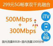 299元5G畅享双千兆融合