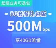 5G畅享融合199档礼包版